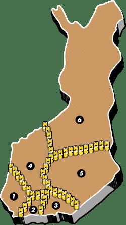 Myyntikentät – Laitilan Wirvoitusjuomatehdas