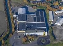 Laitilan Wirvoitusjuomatehdas ilmakuva 2018