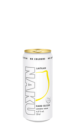 NAKU Hard Seltzer Lemon Sour