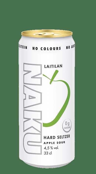 NAKU Hard Seltzer Apple Sour