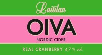 Oiva Real Cranberry Nordic Cider