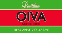 Oiva Real Apple Dry Nordic Cider