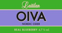 Oiva Real Blueberry Nordic Cider